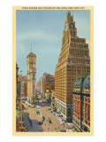 Times Square, Paramount Building, New York City Poster