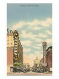 Broadway, Portland, Oregon Posters
