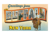 Greetings from Buffalo, New York Prints