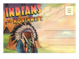 Postcard Folder, Indians of the Northwest Prints