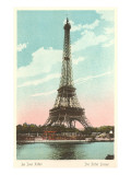 Eiffel Tower and Seine Print