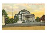 Library, Columbia University, New York City Prints