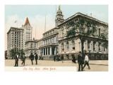 City Hall, New York City Prints