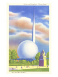 Trylon and Perisphere, New York World's Fair, 1939 Prints