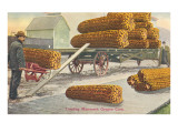 Giant Ears of Corn, Oregon Posters