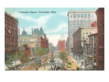 Fountain Square, Cincinnati, Ohio Print