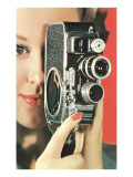Hand-Held Home Movie Camera Posters