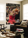 Chicago Bulls v Indiana Pacers - Game Four, Indianapolis, IN - APRIL 23: Derrick Rose Wall Mural by Ron Hoskins