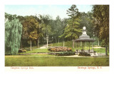 Congress Springs Park, Saratoga Springs, New York Prints