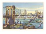 Brooklyn Bridge, New York Art