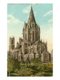 Cathedral of St. John the Divine, New York City Print