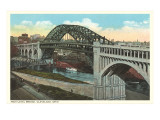 Bridge, Cleveland, Ohio Prints