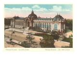 Champs Elysees, Petit Palais, Paris Posters