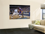 Los Angeles Lakers v Dallas Mavericks - Game Four, Dallas, TX - MAY 8: Kobe Bryant and DeShawn Stev Wall Mural by Glenn James