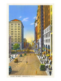 Court Street, Brooklyn, New York City Prints