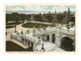 Capitol Grounds, Albany, New York Prints