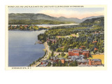 Mirror Lake, Lake Placid, New York Prints