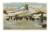 Winter Sports, Mt. Hood, Oregon Posters