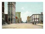Main Street, Dayton, Ohio Posters