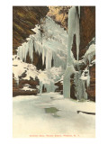 Winter, Watkins Glen, New York Prints