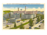 Post Office, Plant, Hershey, Pennsylvania Posters