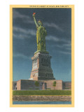 Statue of Liberty, New York Harbor Poster