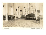 Interior, Carpenters Hall, Philadelphia, Pennsylvania Prints