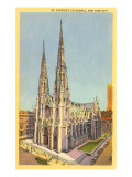 St. Patrick's Cathedral, New York City Print