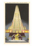 RCA Building, Rockefeller Center, New York City Art