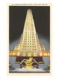 RCA Building, Rockefeller Center, New York City Art