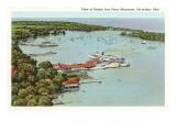 Harbor, Put-in-Bay, Ohio Poster