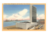 United Nations Headquarters,  New York City Affiche