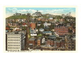 Mt. Adams Incline, Cincinnati, Ohio Print