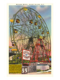 Grande roue, Coney Island, New York Poster