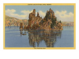 Crater Lake, Phantom Ship, Oregon Prints