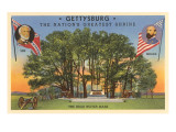 High Water Mark, Gettysburg, Pennsylvania Print