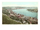Ohio River, Cincinnati, Ohio Print