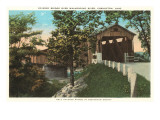 Covered Bridge, Coshocton, Ohio Poster