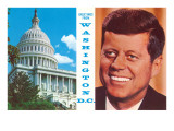 Capitol Dome, John Kennedy Poster