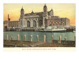 Ellis Island Immigration Depot, New York City Prints