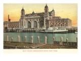 Ellis Island Immigration Depot, New York City Posters