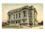 Oneida County Courthouse, Utica, New York Posters