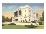 Masonic Temple, Dayton, Ohio Posters