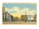 Penn Square, Reading, Pennsylvania Print