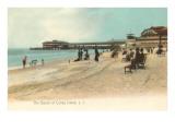 Beach, Coney Island, New York City Posters