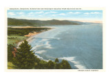 Beaches, Oregon Coast Highway Prints