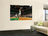 Miami Heat v Boston Celtics - Game Four, Boston, MA - MAY 9: Dwyane Wade and Delonte West Wall Mural by Brian Babineau