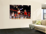 Chicago Bulls v Miami Heat - Game ThreeMiami, FL - MAY 22: LeBron James Wall Mural by Marc Serota