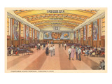 Interior, Union Terminal, Cincinnati, Ohio Prints