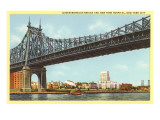 Queensboro Bridge, New York Hospital, New York City Posters